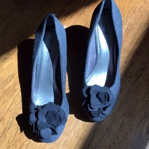 Lindsay Phillips Grey Flannel Wedge